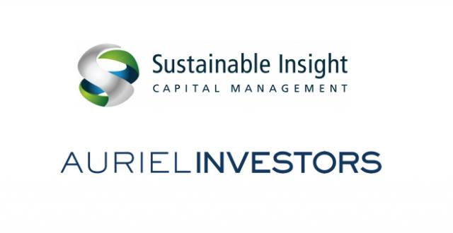 Auriel Investors & Sustainable Insight Capital Management